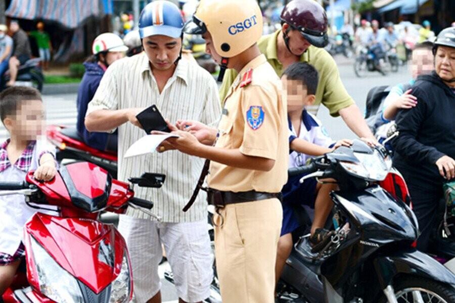 Mức phạt người cho mượn xe bị phạt nguội