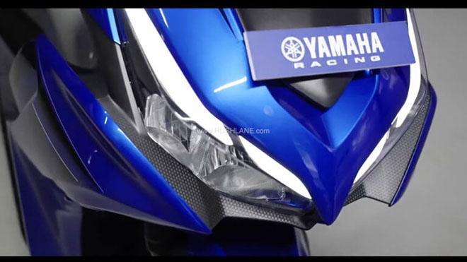 yamaha aerox 155 2022 ra mat: air blade 150 them phan lo lang
