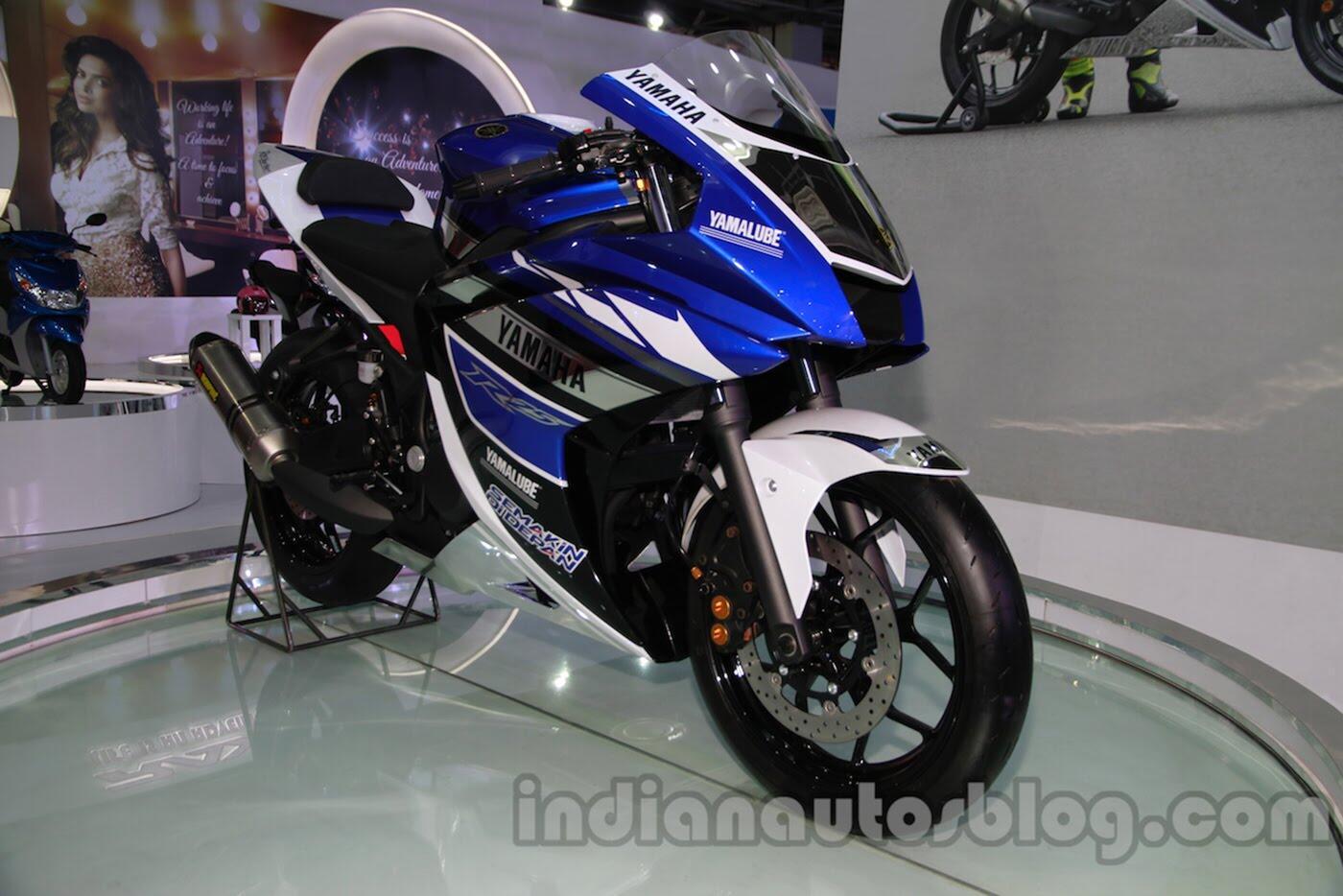 Yamaha R25 2018 rục rịch ra mắt - Hình 1