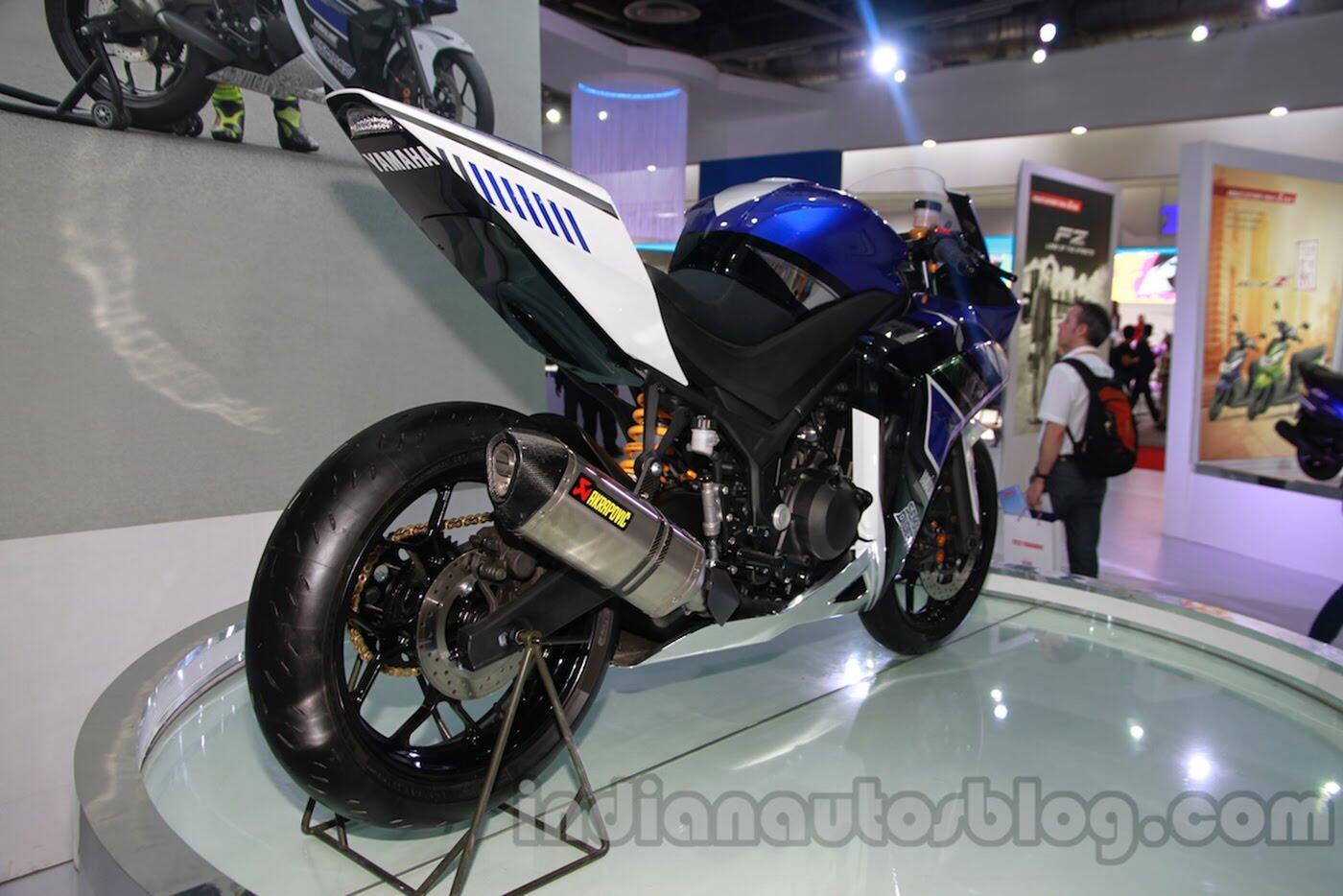 Yamaha R25 2018 rục rịch ra mắt - Hình 4