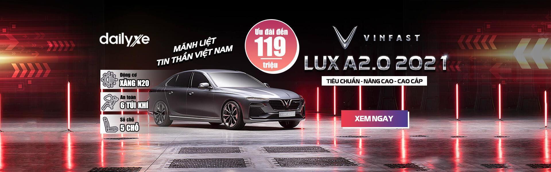 Xem chi tiết VinFast Lux A2.0 2021